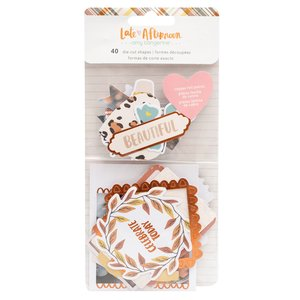 Die Cuts Copper Foil Late Afternoon by Amy Tangerine