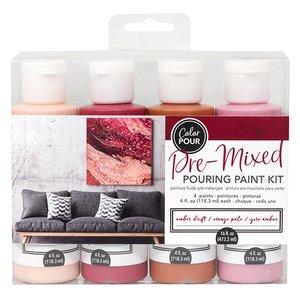 Kit de Pinturas Color Pour Amber Drift
