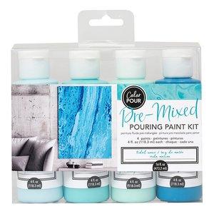 Kit de Pinturas Color Pour Tidal Wave