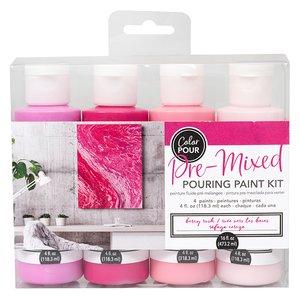 Kit de Pinturas Color Pour Berry Rush