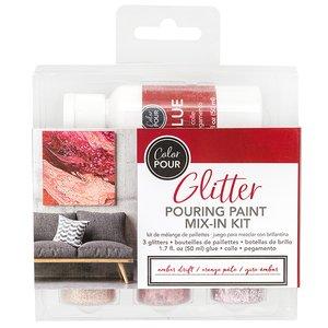 Kit para mezclar con brillantina Color Pour Amber Drift