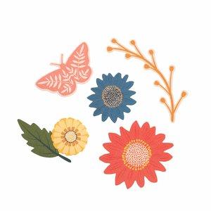 Die Cuts Floral Bungalow Lane de Page Evans