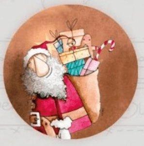 Chapa XL Navidad 2 de El Altillo de los Duendes