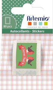 Rollo de pegatinas Stamps Artemio Merry Christmas