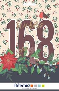 Libreto de pegatinas Artemio Merry Christmas