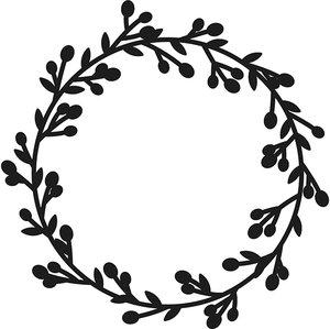 Troquel Christmas Couronne Artemio Merry Christmas
