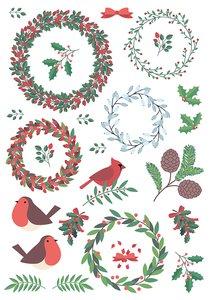 Rubons o calcomanías Artemio Merry Christmas