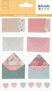 Mini sobres adhesivos y tarjetas Artemio Slow Life