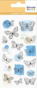 Pegatinas puffy Artemio Mon Essentiel Papillons