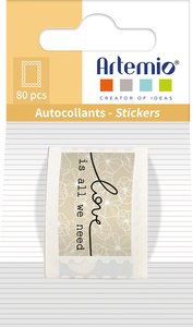 Rollo de sellos adhesivos Artemio Mon Essentiel
