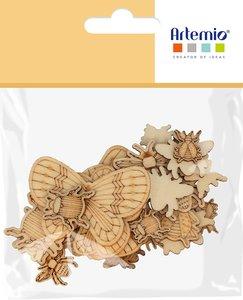 Siluetas de madera Artemio Mon Essentiel Insectes