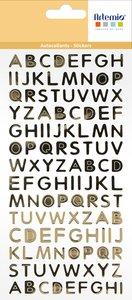 Mini alfabeto Foil Oro col. Nos Casamos de Artemio