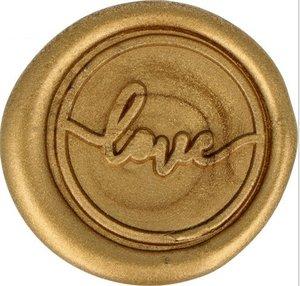 Sellos de cera Love Oro col. Nos Casamos de Artemio