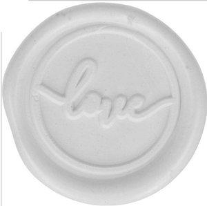 Sellos de cera Love Blanco col. Nos Casamos de Artemio