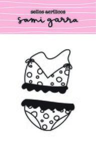Set de Sellos Sami Garra Bikini lunares