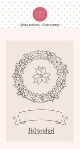 Mini sello Felicidad de Elena Roche