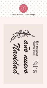Mini sello Feliz de Elena Roche