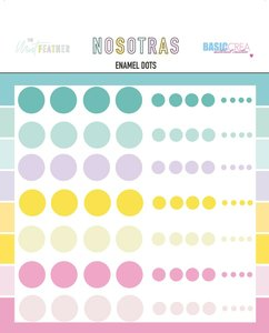 Enamel dots Nosotras de The Mint Feather