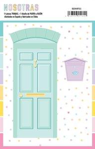Troquel puerta y buzón Nosotras de The Mint Feather