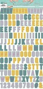Alfabeto decorado The Bloomsbury de Alberto Juárez