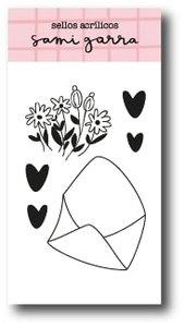 Sello Sobre florido Jane de Sami Garra