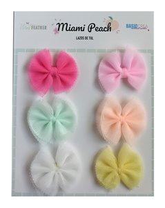 Lazos Miami Peach de Ther Mint Feather