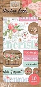 Libreto de pegatinas Farmhouse Floral