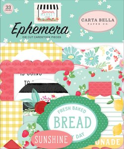Die Cuts Carta Bella Summer Market
