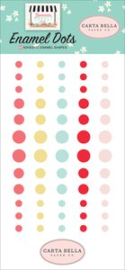 Enamel Dots Carta Bella Summer Market