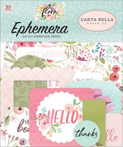 Die Cuts Carta Bella Flora n3