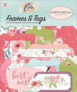 Die Cuts Frames & Tags Carta Bella Flora n3