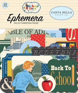Die Cuts Carta Bella School Days