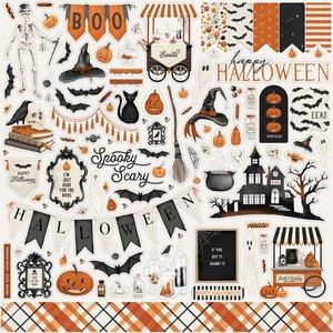 "Pegatinas 12x12"" Carta Bella Halloween Market"