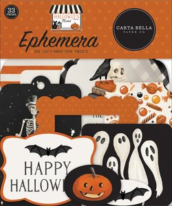 Die Cuts Carta Bella Halloween Market
