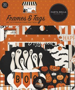Die Cuts Frames & Tags Carta Bella Halloween Market