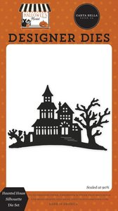 Troqueles Carta Bella Halloween Market Haunted House