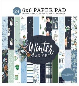 """Pad 6x6"""" Carta Bella Winter Market"""