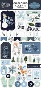 "Chipboard 6x12"" Carta Bella Winter Market"
