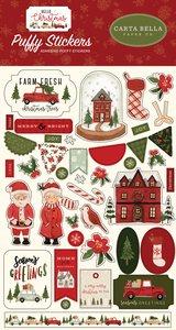 Pegatinas puffy Carta Bella Hello Christmas