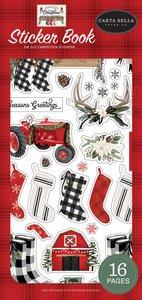 Libreto de pegatinas Carta Bella Farmhouse Christmas