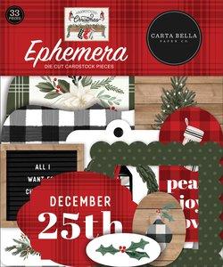 Die Cuts Carta Bella Farmhouse Christmas