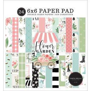 "Pad 6x6"" Carta Bella Flower Garden"
