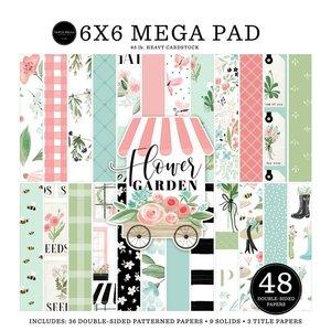 "Mega Pad 6x6"" Carta Bella Flower Garden Cardmakers"
