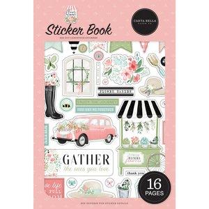 Libreto de pegatinas Carta Bella Flower Garden