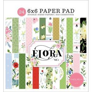 """Pad 6x6"""" Carta Bella Flora n4"""