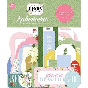 Die Cuts Carta Bella Flora n4 Ephemera