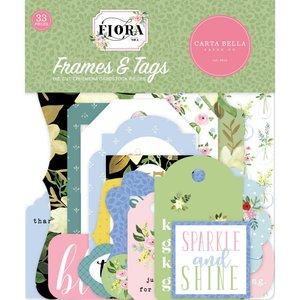 Die Cuts Carta Bella Flora n4 Frames & Tags