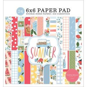 "Pad 6x6"" Carta Bella Summer"