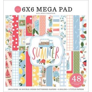 """Mega Pad 6x6"""" Carta Bella Summer Cardmakers"""