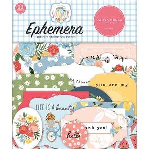 Die Cuts Carta Bella Summer Ephemera